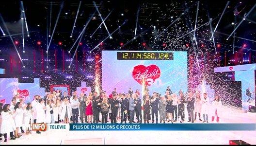 30e Télévie: nouveau record hier soir avec 12.114.560€