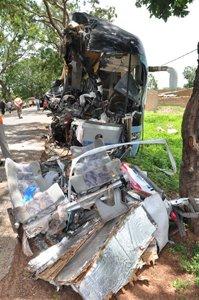 Accident de la route à Sabou : 10 morts sur le coup, 12 blessés