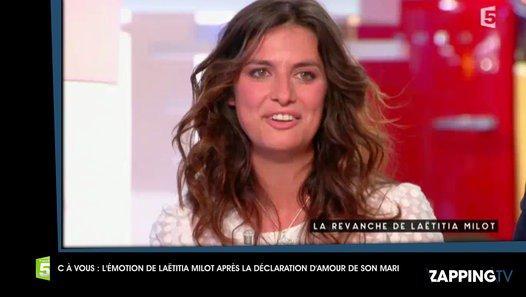 C à vous : Les larmes de Laëtitia Milot après la déclaration d'amour de son mari (vidéo) - vidéo Dailymotion