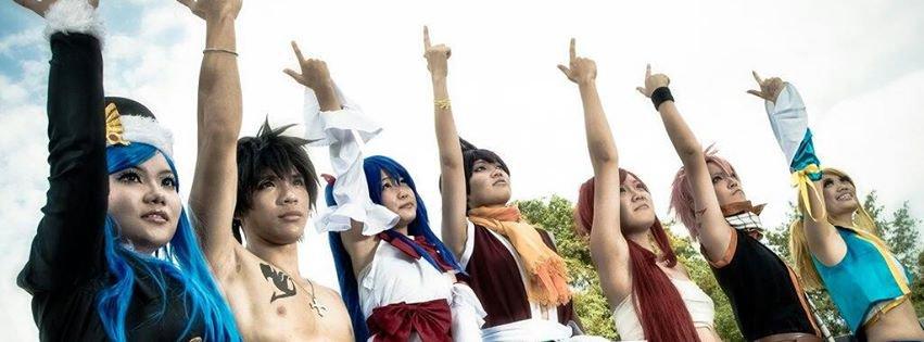 Le double monde de Fairy Tail et de One Piece