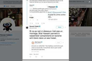 """Les preuves de falsification de tweets """"de"""" Bilal Hassani"""