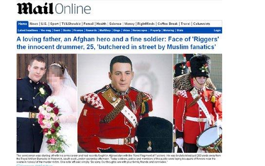 Soldat tué dans les rues de Londres: Lee Rigby, 25 ans, papa d'un garçon de 2 ans