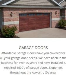 24/7 emergency garage door repair services acworth