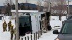 Deux morts dans un accident d'autocar près de Plessisville