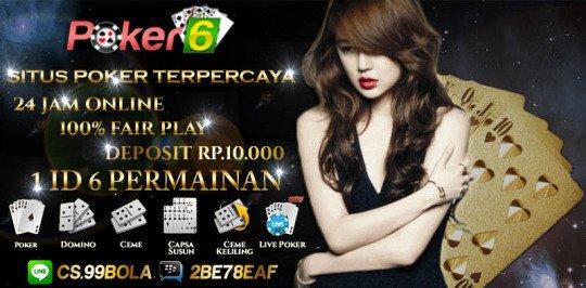 Judi Poker Online Indonesia Terpercaya yang Banyak Disukai