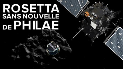 Rosetta toujours en quête des origines de la vie - vidéo dailymotion