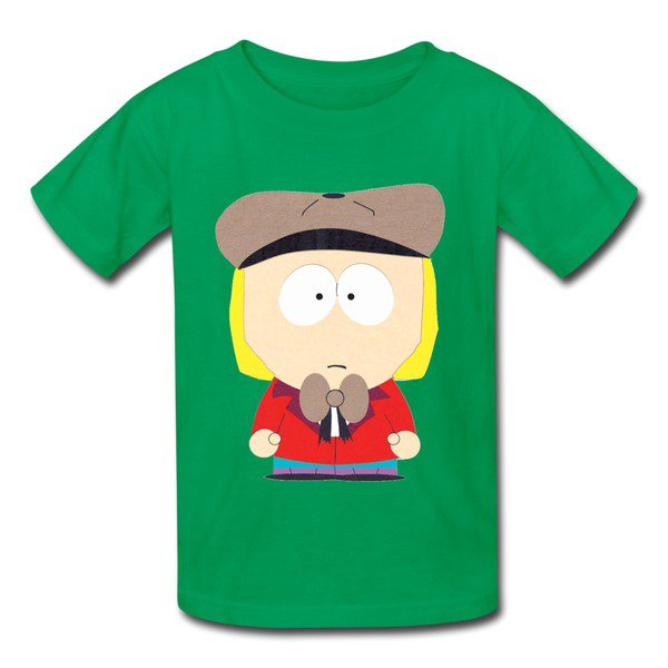Wholesale South Park Stanley Marsh Kelly Green 7600b T-shirt For Kid No Minimum-Official Brands T-shirts |HICustom