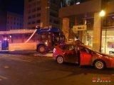 Accident spectaculaire avec un bus à Québec