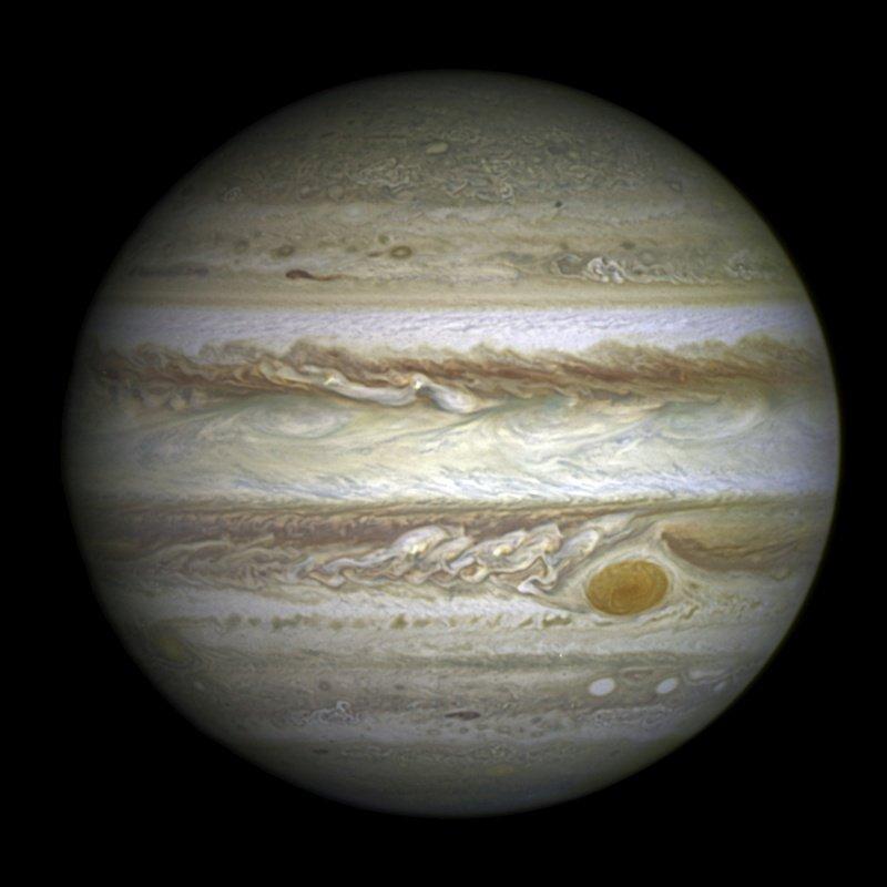 Les plus grosses planètes du système solaire