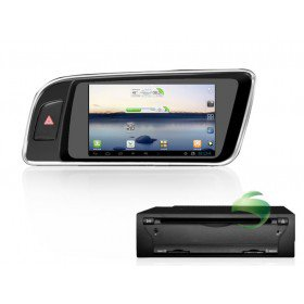 Android 4.0 Auto DVD Player GPS Navigationssystem für Audi Q5(2008 2009 2010 2011 2012) Rechtslenker