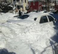 Mom, son die waiting in car with tailpipe blocked by snow