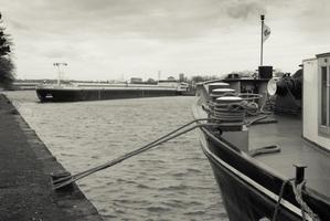 Logistique Fluviale - Poort van het scheepvaart transport... - Photos barrage Liège
