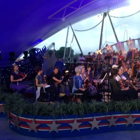 America has a birthday coming up... And I'm rehearsing for the party. #July4thPBS