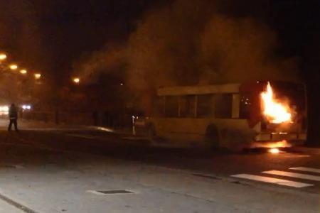 Chaudfontaine: un bus en feu sur la ligne 31 ce mercredi soir (vidéo)