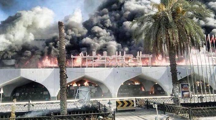 L'aéroport international de Tripoli aux mains des islamistes le jour où ils prendront CDG, Schiphol, ou Heathrow ça ressemblera à cela | Nano & Mitz מצטרפתים