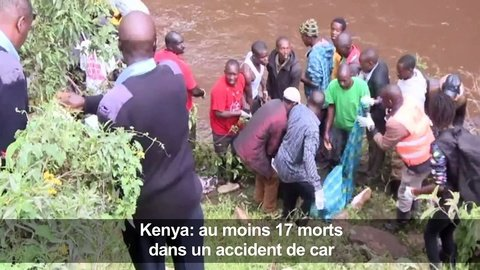 Accident de bus au Kenya: au moins 17 morts