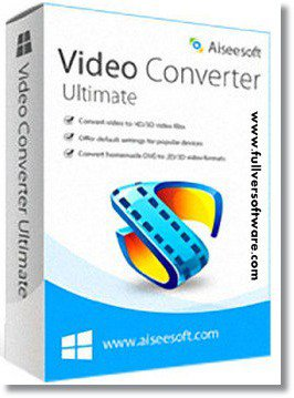 Aiseesoft Video Converter Ultimate 9.2.32 Incl Patch + Portable | Full Version Software