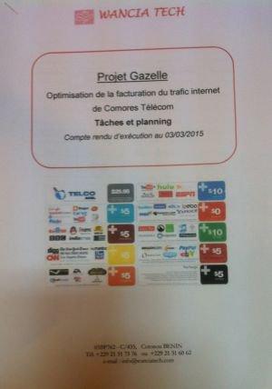 Actualité des Comores / Gazelle, le projet de Comores Télécom : Pour surfacturer les communications internet / Al-Watwan, quotidien comorien