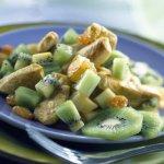 Poêlée de poulet et kiwis au curry - Blog de MES-RECETTES-PREFEREES67