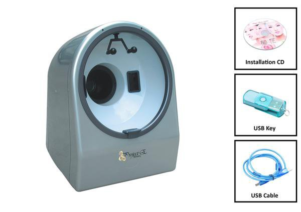 Project E Beauty High Quality and High Accuracy Light Detector Magic Mirror Facial Skin Analyser Analyzer