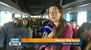 France: des élèves bruxellois sont restés bloqués sur l'A1 - Vidéo - RTL Vidéos