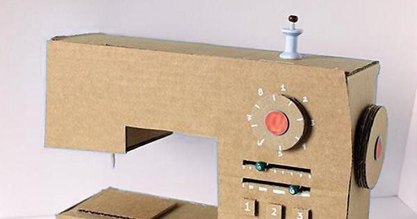 DIY Cardboard Box Play Sewing Machine - Imgur