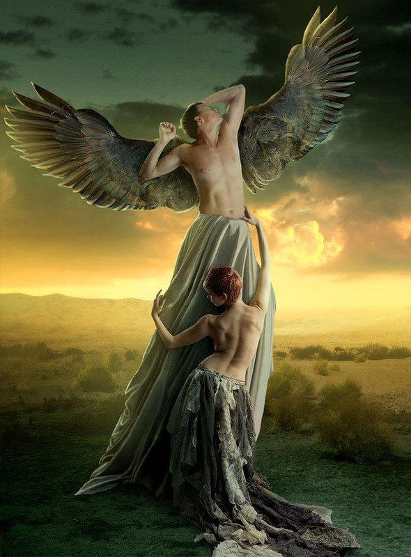 Mon ange nu... - La nudité de l'esprit.