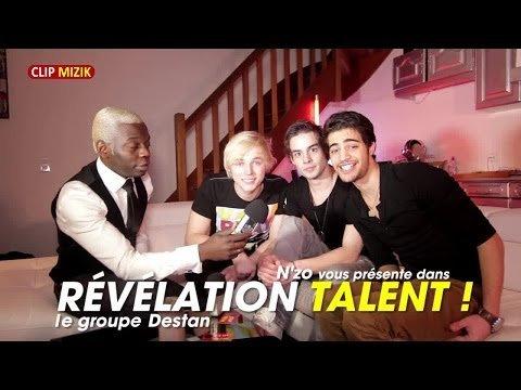 Destan dans l'émission Révélation Talent animée par N'ZO