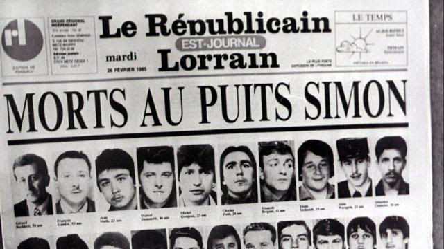 Puits Simon : après la catastrophe, reprendre le travail – Catastrophe du Puits Simon à Forbach - France 3 Lorraine
