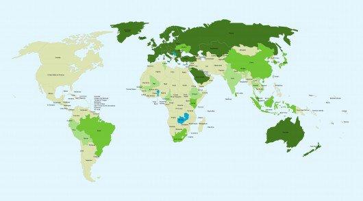 ATLAS – Seuls trois pays interdisent les aliments OGM dans le monde