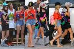 * 27/03/12 : Selena et ses costars étaient encore et toujours sur le set de « Spring Breakers » en Floride. *