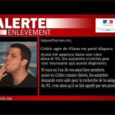 Radio Libre > Alerte enlèvement pour Cédric Le Belge !