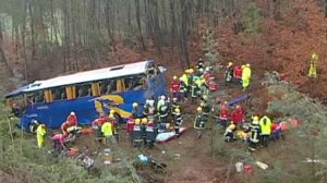 Accident de bus meurtrier au Portugal