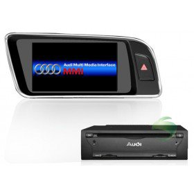 In-Dash Auto DVD Gps navigation Stereo für Audi Q5 mit Radio TV Bluetooth Ipod