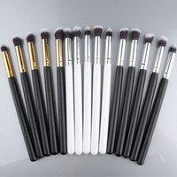 Cosmetic Set Eyeshadow Foundation Wood Pro MakeUp Brush Tools