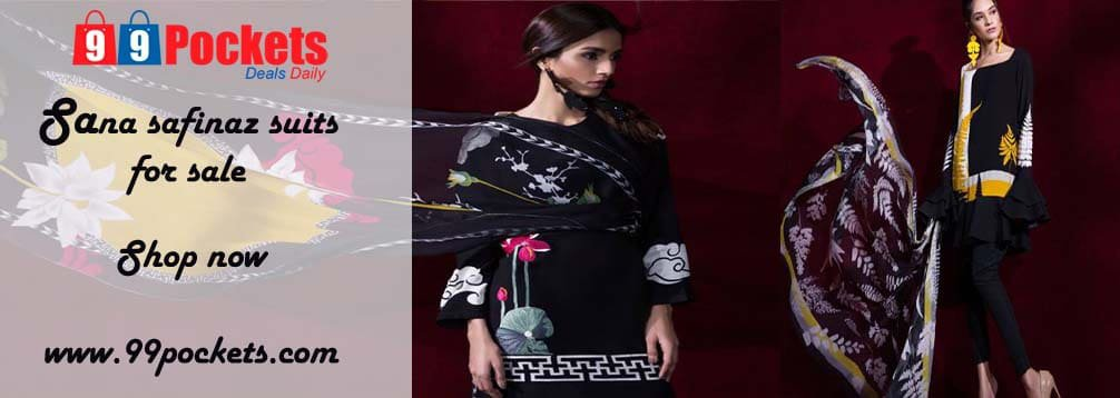 Sana safinaz suits sale - Shop Now || At 99pockets