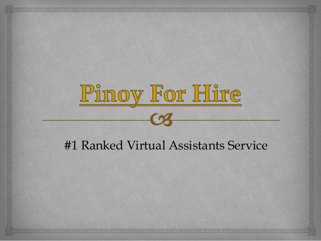 Philippines Virtual Assistant