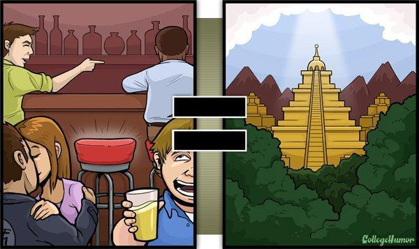 Top 25 des dessins «réalité VS alcool», ou les déformations de la vie quand on a (un peu) trop bu