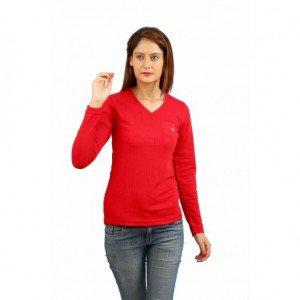 Women Under Jacket Red