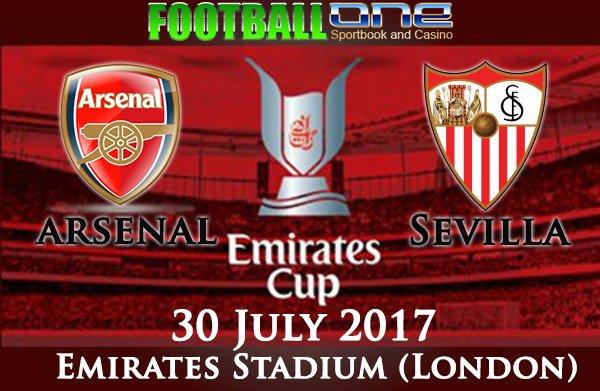Prediksi ARSENAL vs SEVILLA 30 July 2017