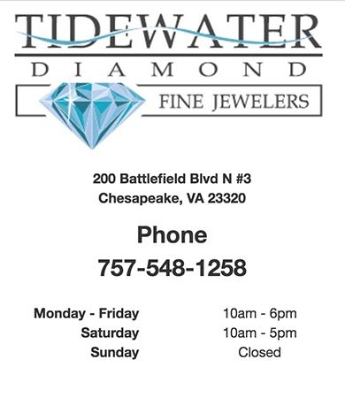 Chesapeake Jewelry Store- Tidewater Diamond