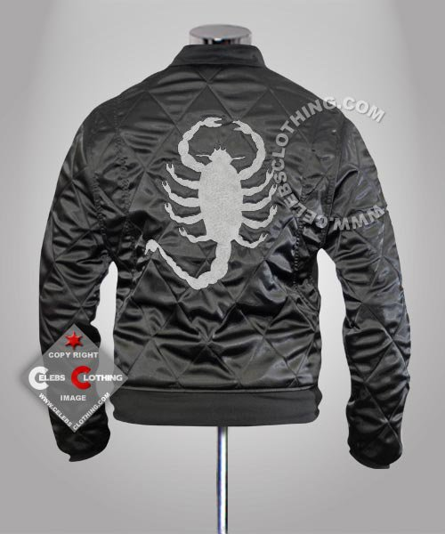 Drive Movie Scorpion Black Jacket