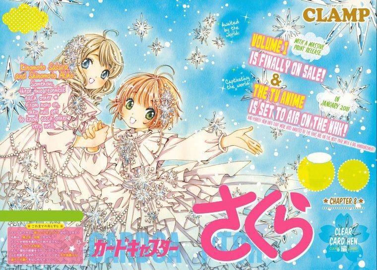 sakura  clear card