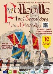 Les Médiévales - Folleville - chateau medieval - Medievales Folleville - Somme Picardie