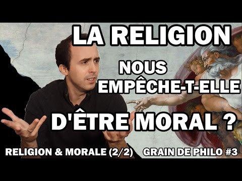 On montre avec Kant pourquoi la religion nous empêche d'être moral. - LNO