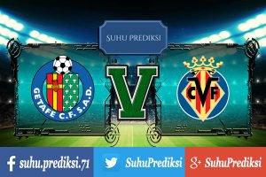 Prediksi Bola Getafe Vs Villarreal 24 September 2017 | Suhu Prediksi