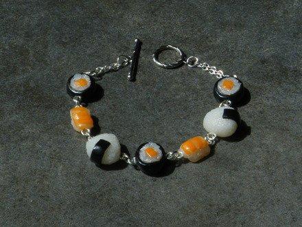 Bracelet gourmandise japonaise en fimo : Bracelet par jl-bijoux-creation