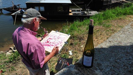Vincent Pocquereau, parade sur la Loire à Saumur - France 3 Pays de la Loire