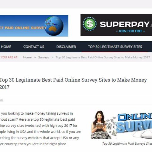 Tips to Get Paid to Take Surveys