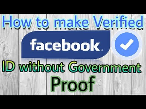 How to Make Facebook Verified ID in 2018 {100% Working}